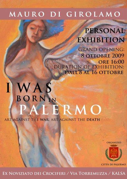 I was born in Palermo